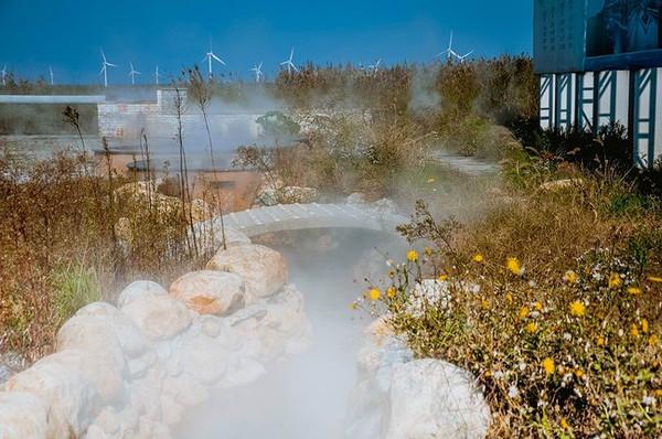 南通小洋口不止有温泉,还有黄海边吹来的风.