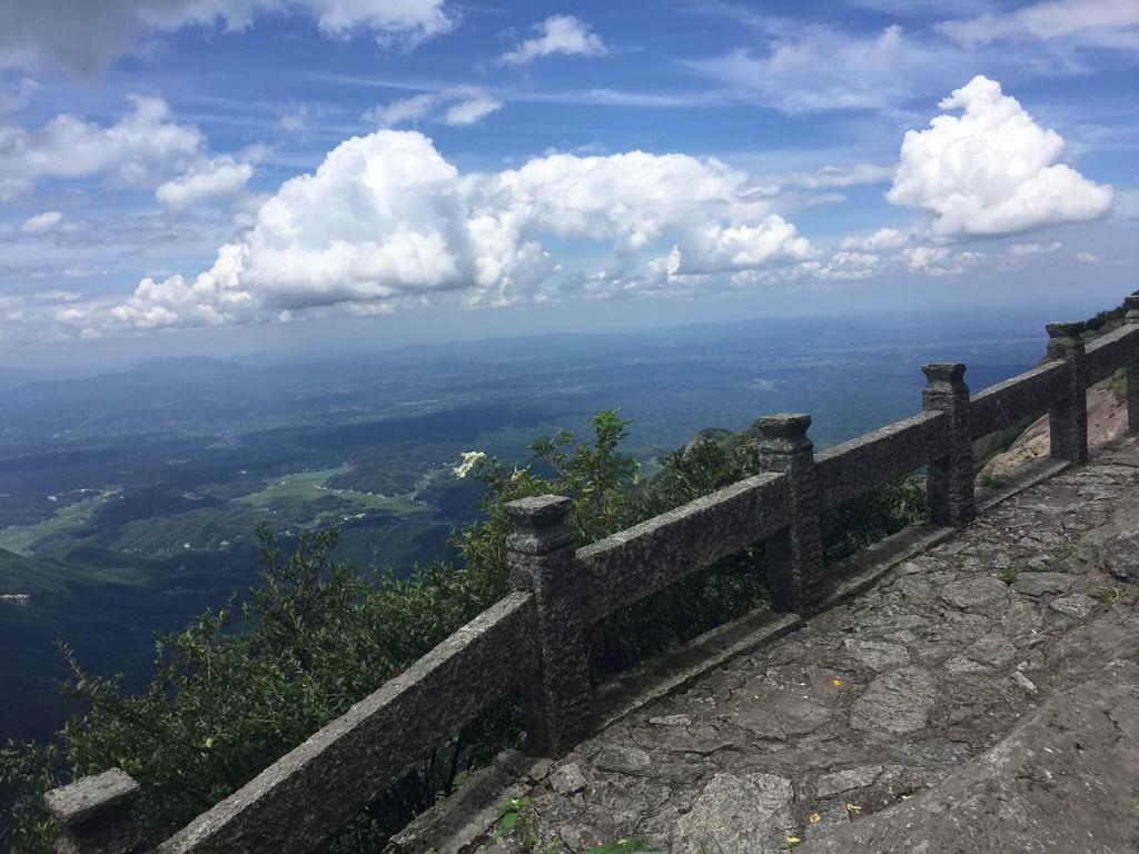衡山风景魔镜台