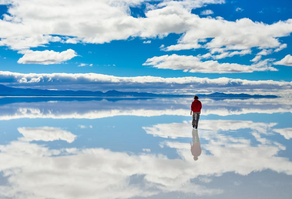 烏尤尼鹽湖  Uyuni Salt Flat   -0