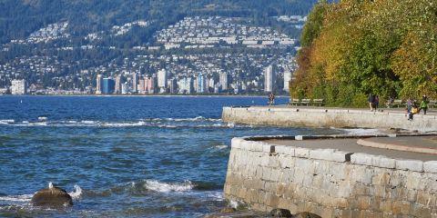 溫哥華海塘