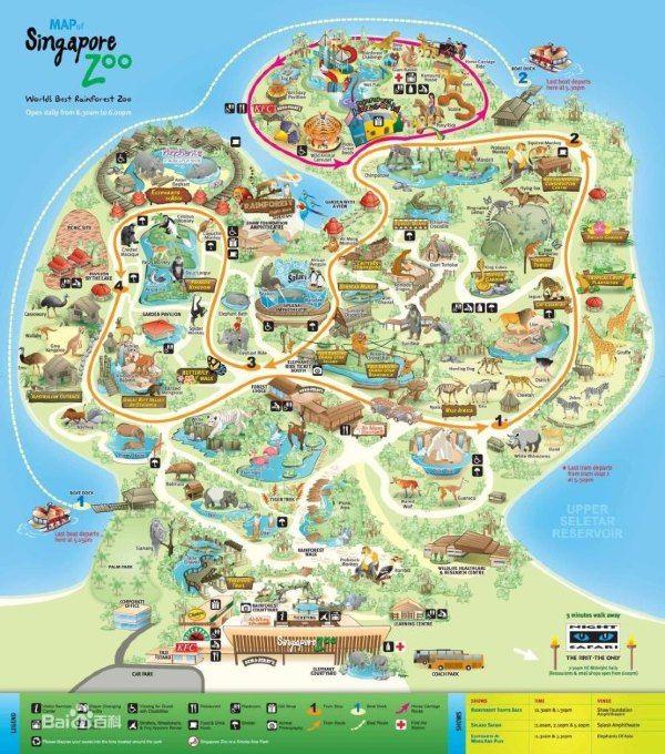 最后奉上动物园的地图一张