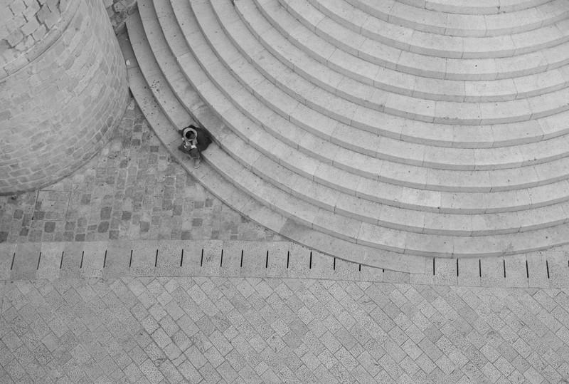 多米尼克修道院的半圆台阶