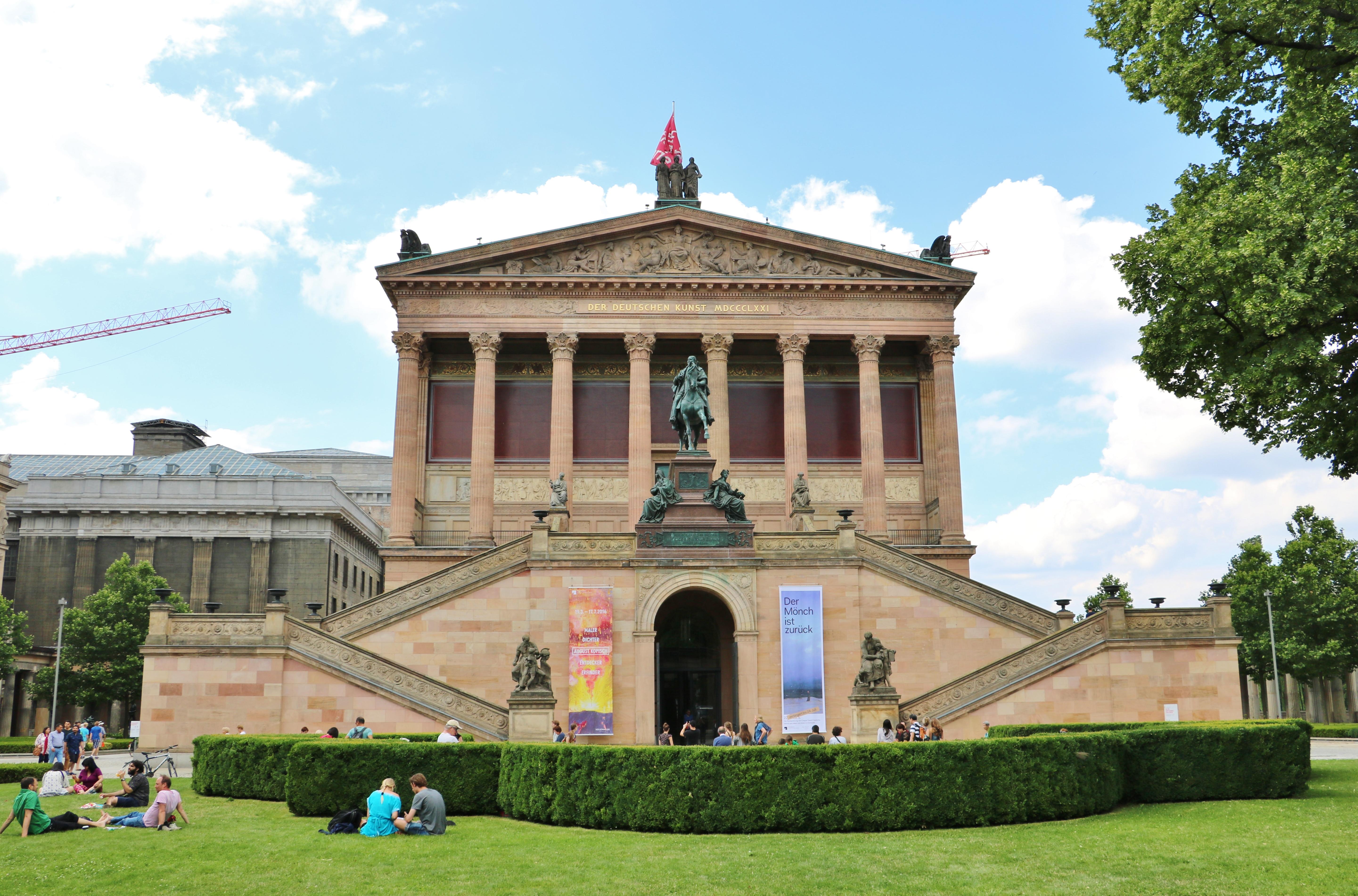 柏林国立美术馆  The National Gallery in Berlin   -0