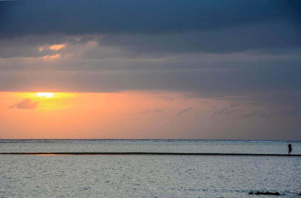 长滩岛住4 个晚上,连续三个早上去了这个海滩拍摄日出,因为天气原因
