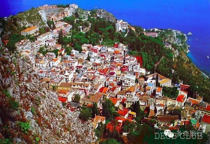 卡塔尼亚(最美巴洛克建筑群和意大利第三大教堂就在这里)-埃特纳火山(欧洲最高的活火山)-陶尔米纳(地中海的阳光、海湾、古希腊山城、悬崖剧场和古老宫殿)-阿奇堡(经典中世纪诺曼风格城堡)-锡拉摩萨(古朴典雅的小镇《西西里的美丽传说》拍摄地)-诺托(拥有世界最好吃的冰激凌)-拉古萨(巴洛克风格古城,被誉为天空之城)-莫迪卡(这里有最古老工艺的手工巧克力)-斯科利蒂(地中海风格的小渔村)-阿格里真托(古希腊神庙群,西西里历史遗迹最多的地方)-巴勒莫(最美的回教城市,皇宫、大教堂、歌剧院等历史建筑,将诺曼、拜
