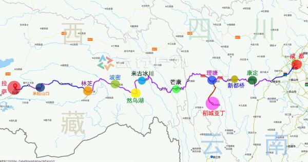 成都到拉萨-大美川藏线秋色摄影及旅游攻略