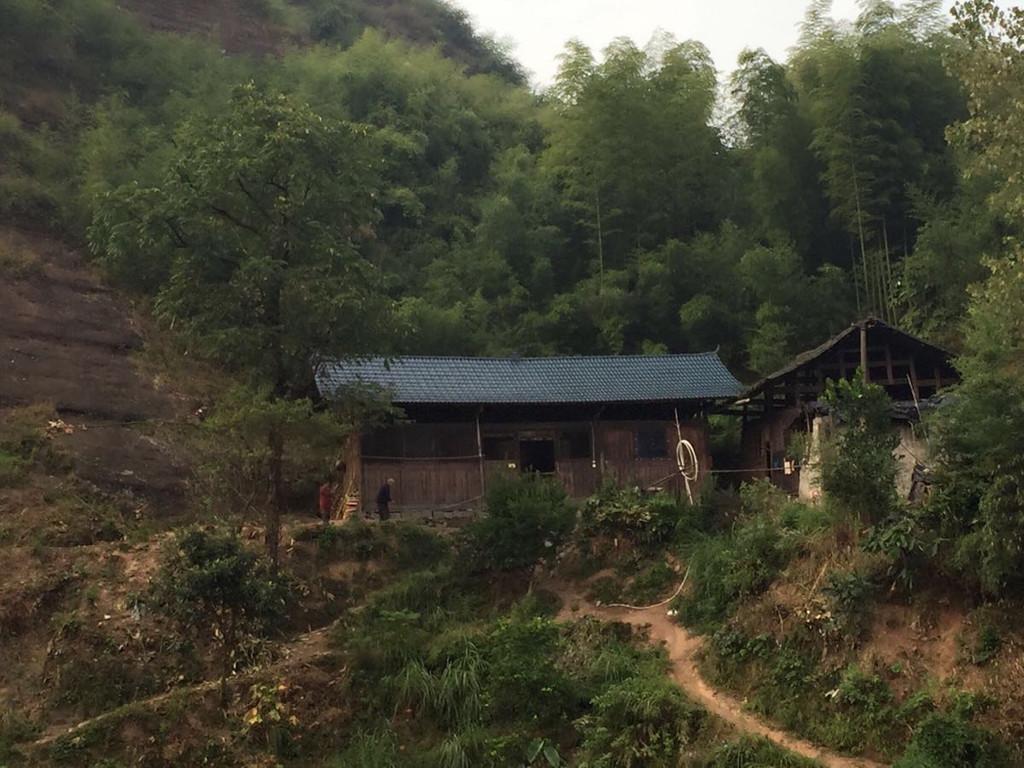 湖南的木房子