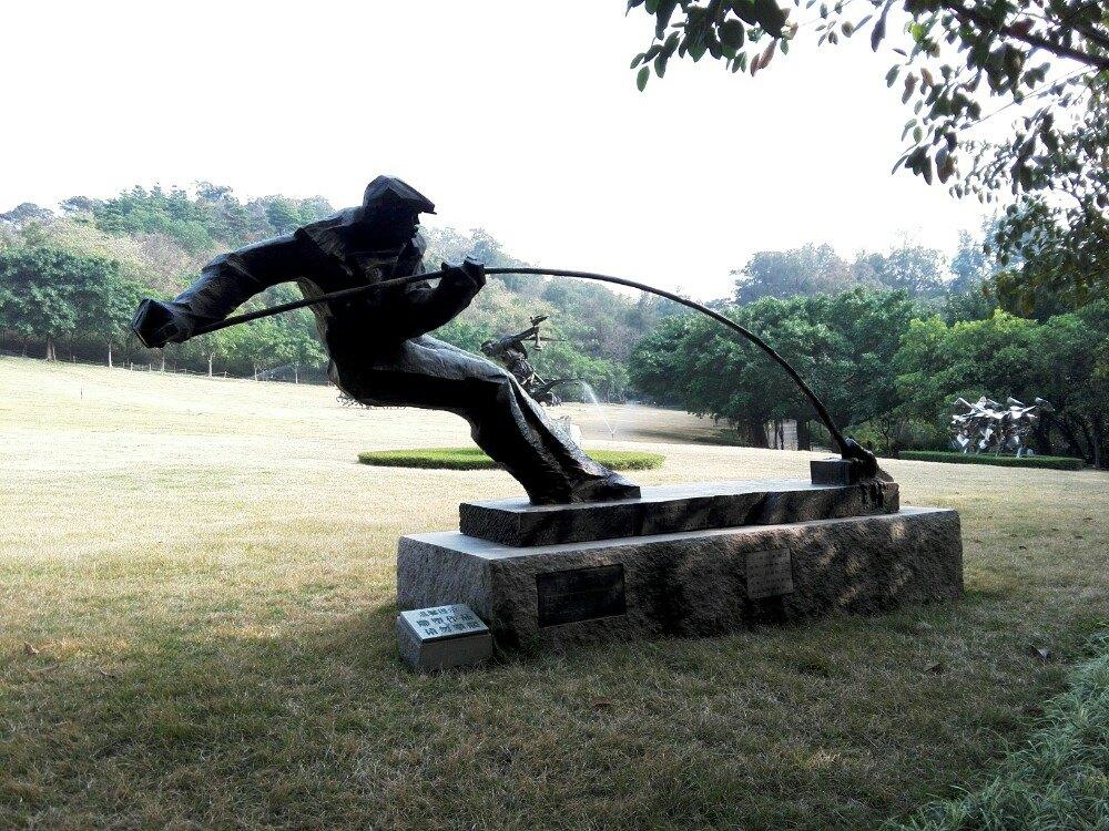 来点文艺范--广州雕塑公园悠闲游