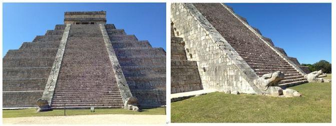 当阳光照射在金字塔东侧时