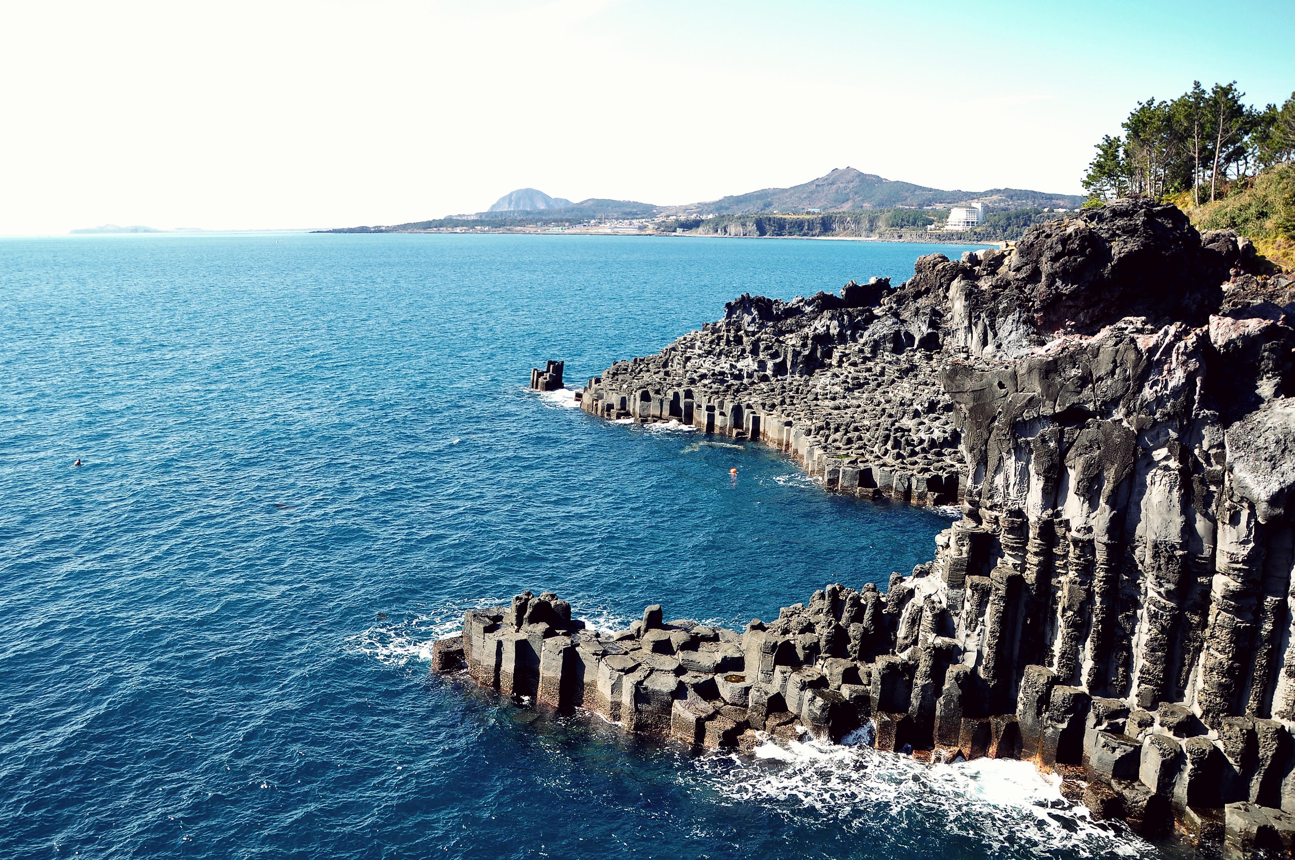 柱状节理带  Jungmun-Daepo Coast   -2