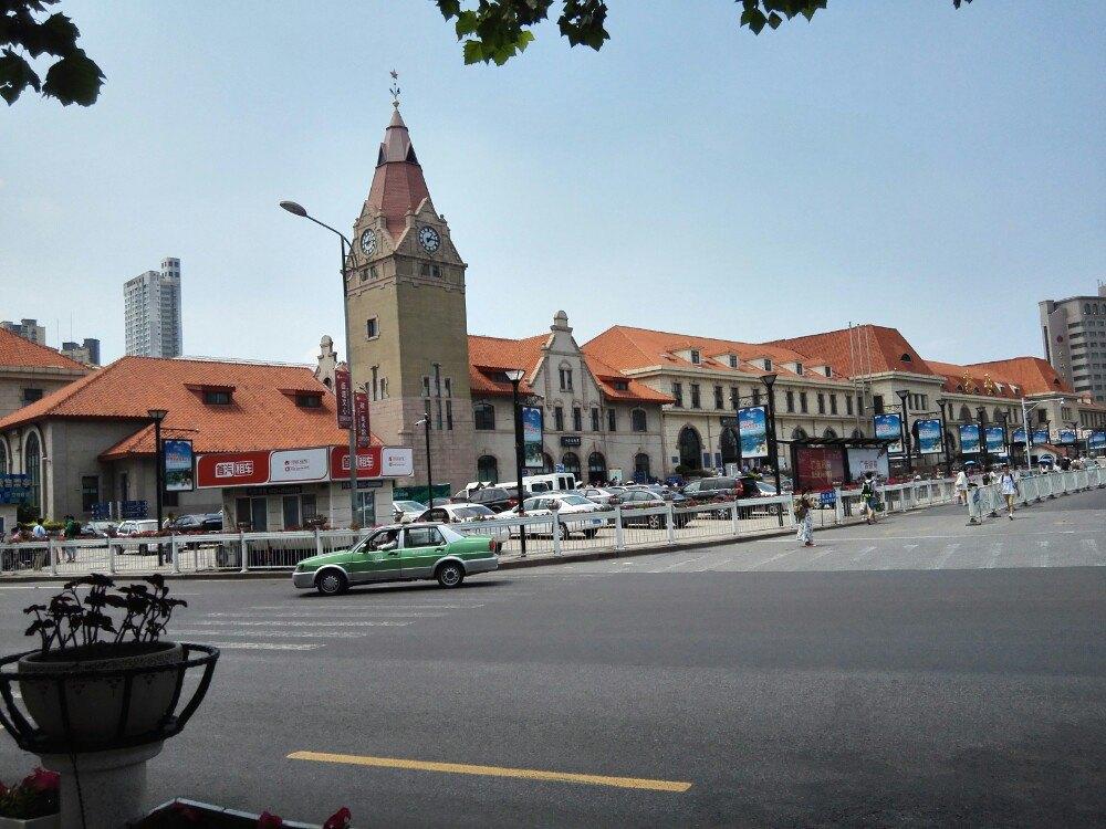 青岛火车站是典型的德国建筑风格
