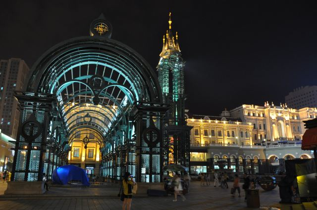欧式广场地面铺装