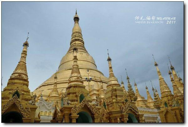 仰光大金塔是缅甸最神圣的佛塔