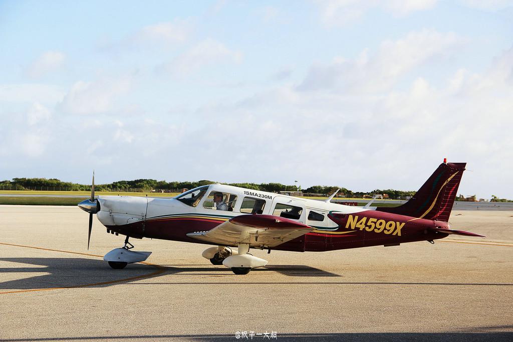 开飞机环摄美国塞班岛,枫子带你装b带你飞!(塞班岛最新万字详攻略!)