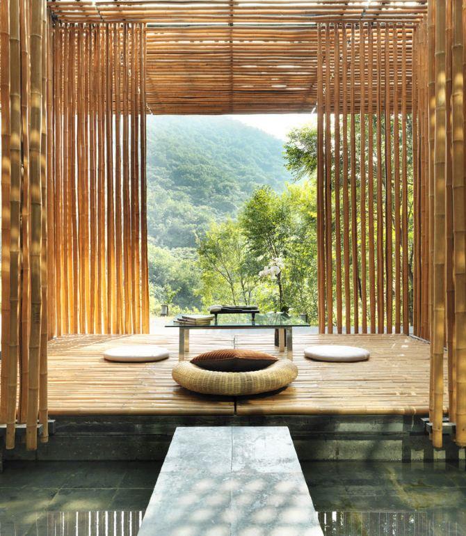 小屋茶室设计效果图