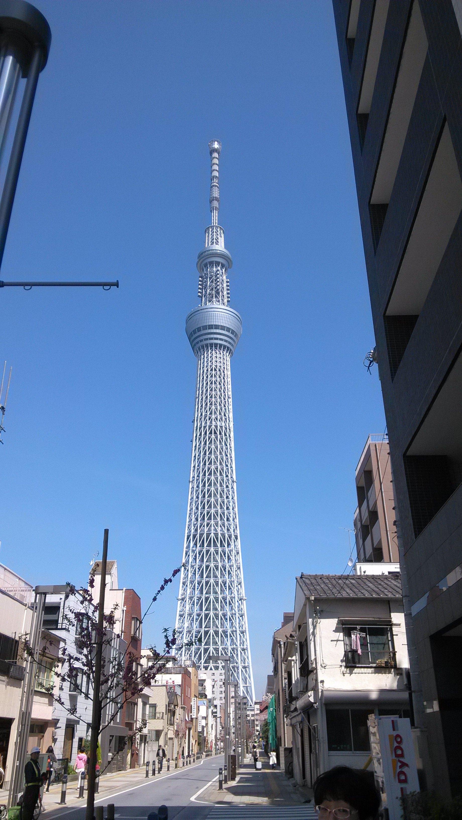东京晴空塔,对我来说,远远看看就足够