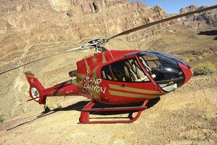 乘坐直升飞机观科罗拉多大峡谷 - 拉斯维加斯游记攻略