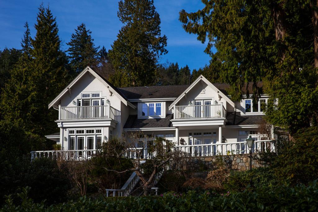 加拿大之旅实际(2)--温哥华首日冰雪别墅面积图片