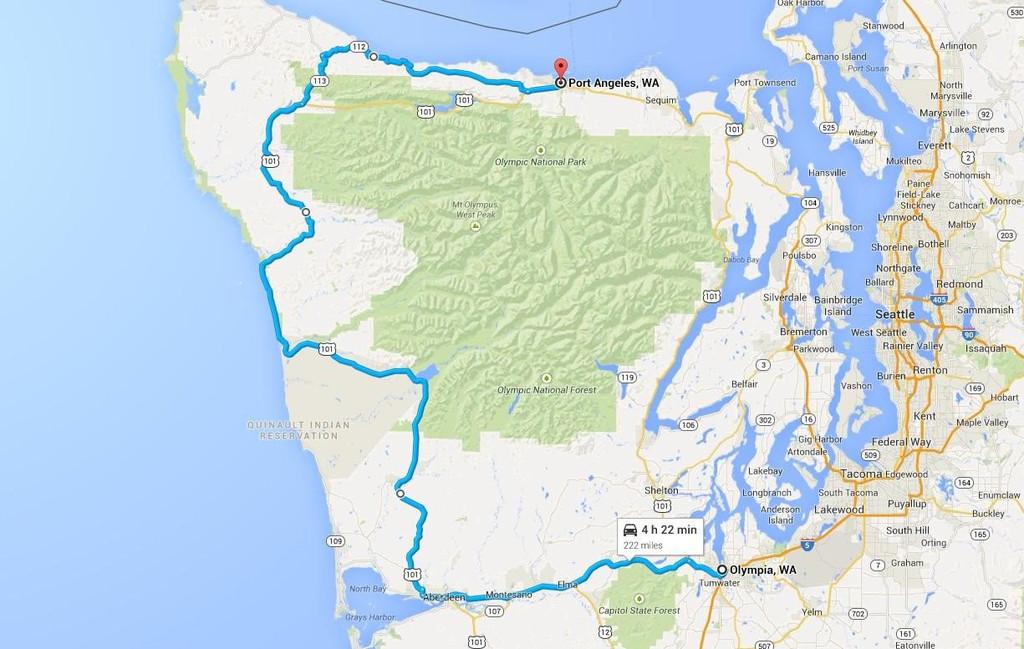 洛杉矶—西雅图,美国西海岸线八日房车自驾路线(自然景观 人文景观
