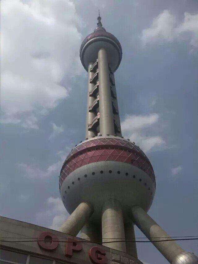 上海的另一座地标(东方明珠电视塔