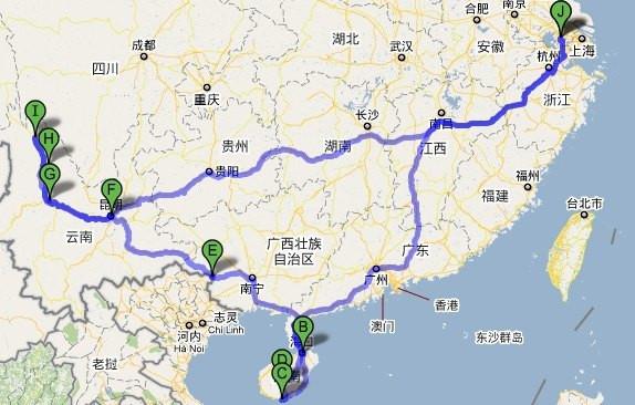 2010自驾 苏州-海南岛-丽江