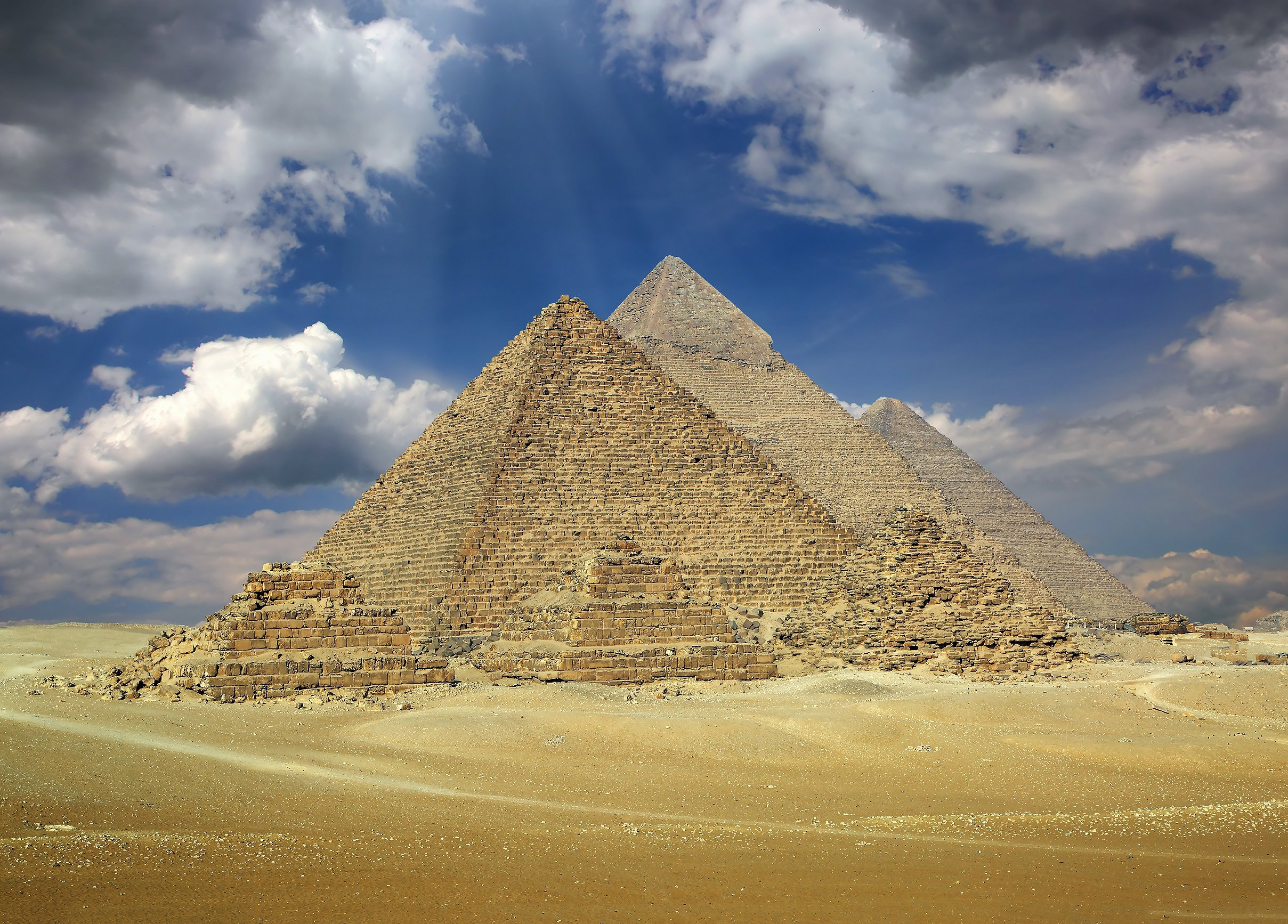 孟卡拉金字塔  Pyramid of Menkaure   -1