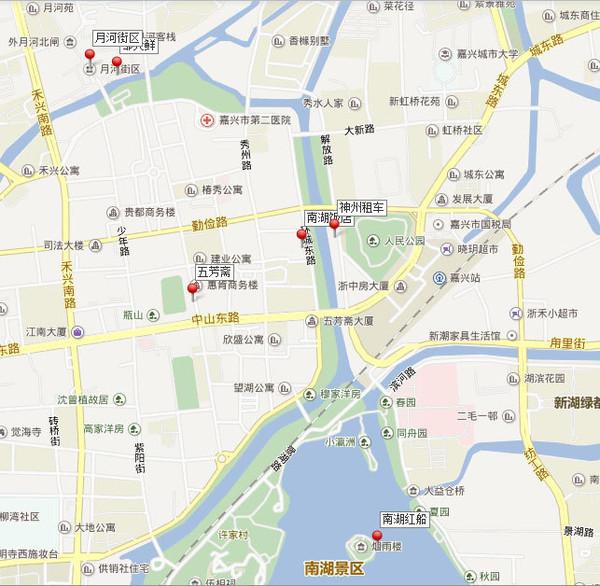 明楼街道地图
