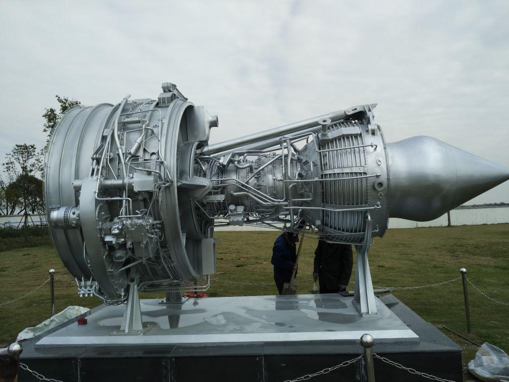 海商飞的飞机发动机模型