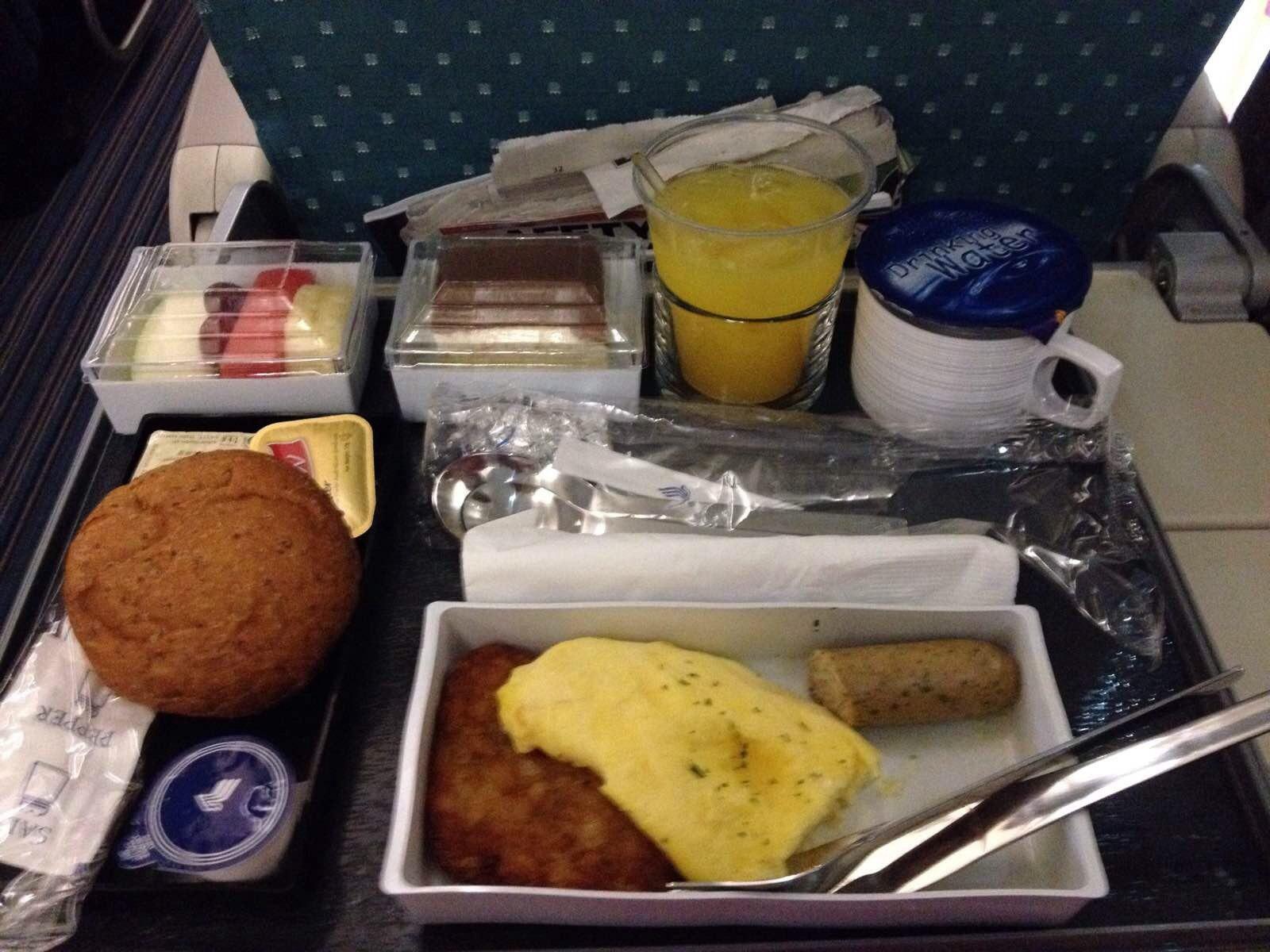 新航的飞机餐就是好吃