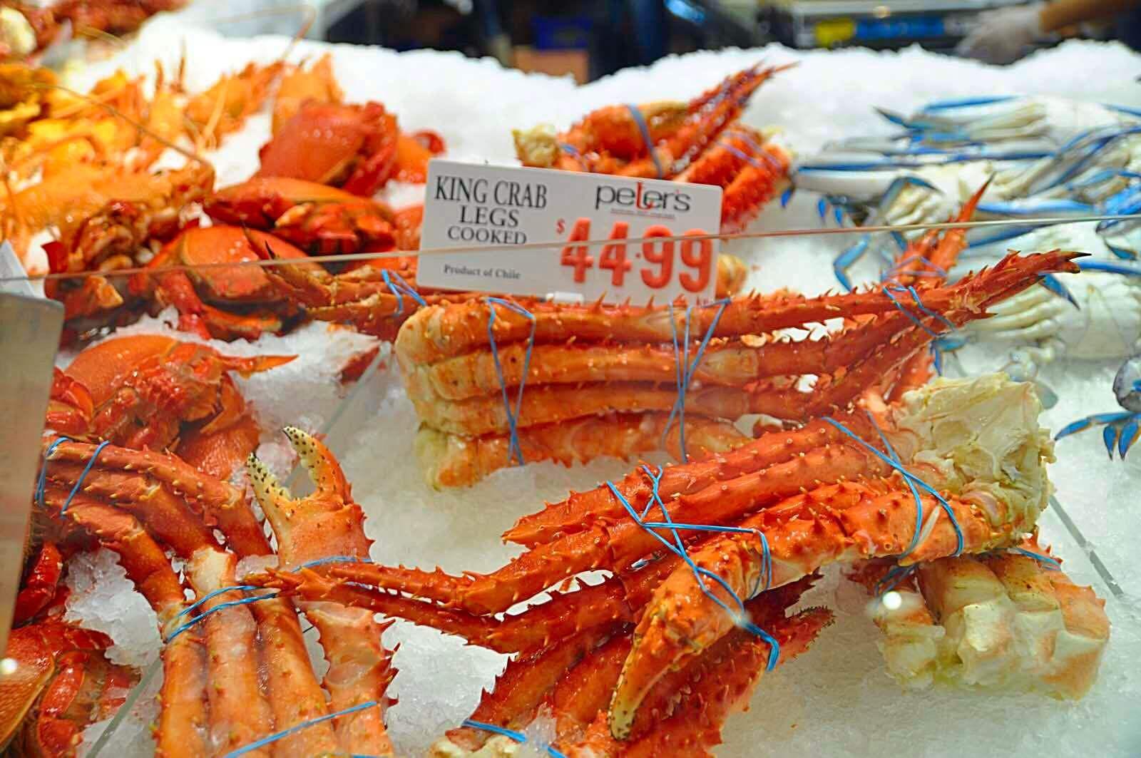 悉尼海鲜市场fish market 南半球最大的集批发,零售与餐饮与一体的