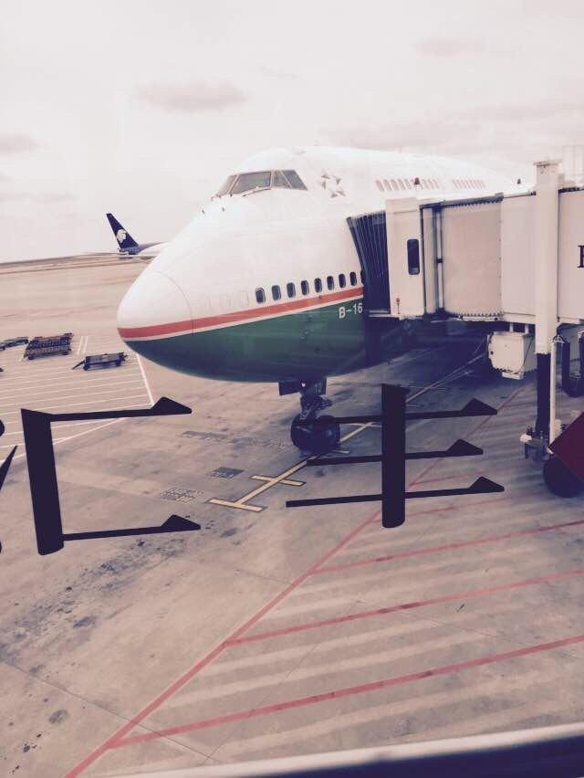 浦东,我们的大飞机.没想到坐上边那层!