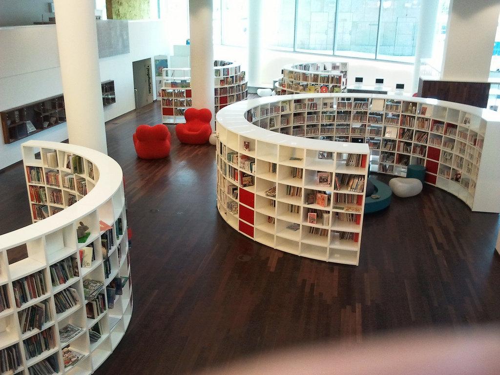 阿姆斯特丹中央图书馆  Central Library   -1