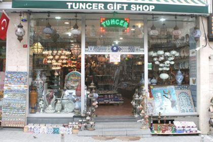 当地非常有名的特色礼品店,经营了10余年,店面不大,但很温馨.图片