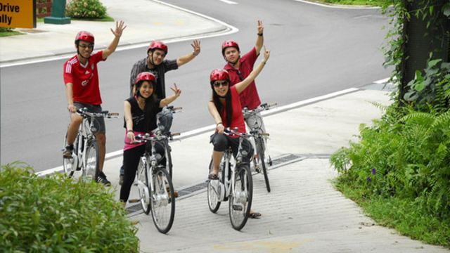 新加坡圣淘沙自行车环岛游