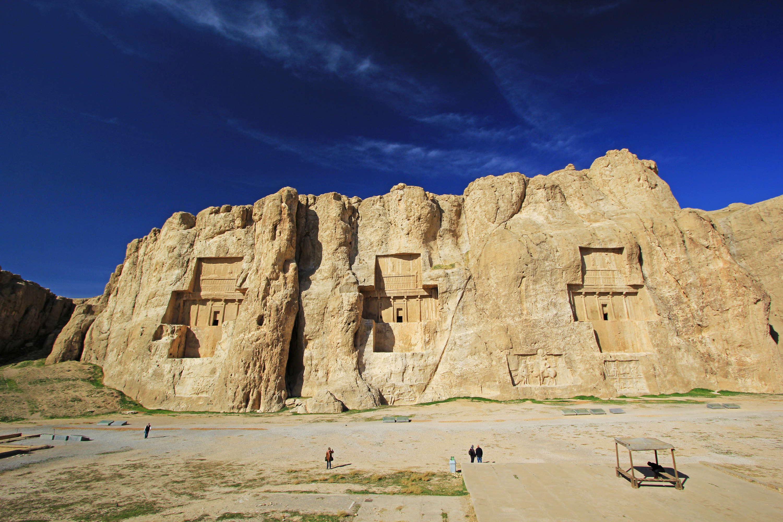 波斯帝陵和薩珊浮雕  Naqsh-e Rostam   -0