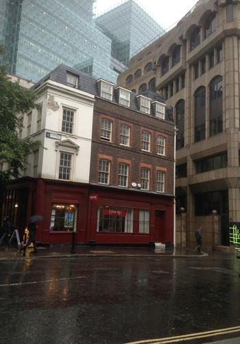 伦敦.伦敦.细雨中的圣保罗大教堂.-英国攻略攻游记禧嫔怡延图片