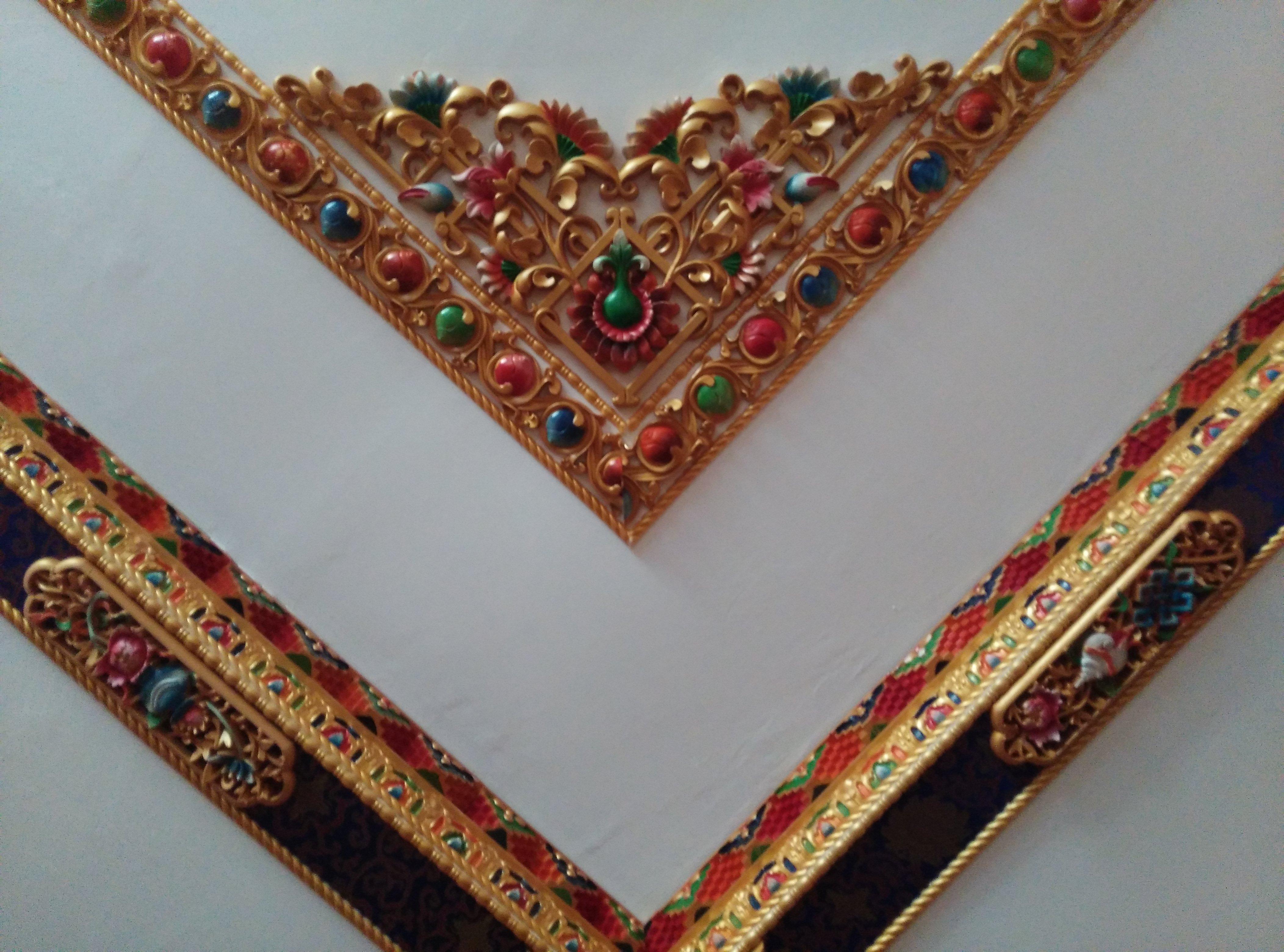 藏式风格的吊顶图片