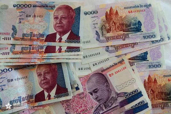 呵呵呵,十万元哦,不过,人民币与柬埔寨货币瑞尔的兑换比例是1:500.