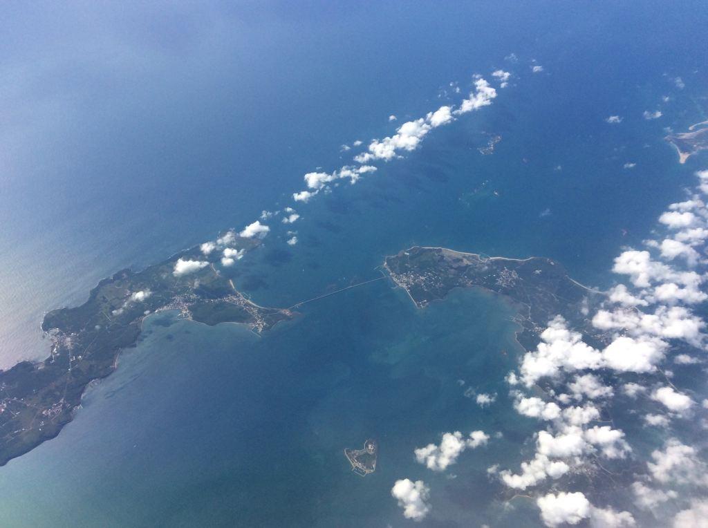澎湖列岛上空