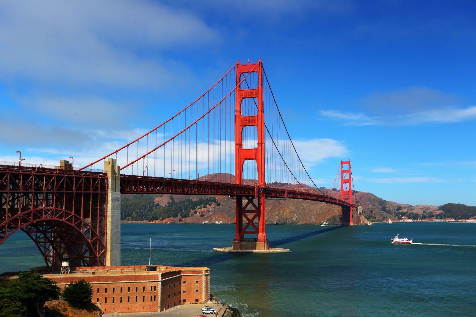 金门大桥的设计者是桥梁工程师约瑟夫·施特劳斯 joseph .