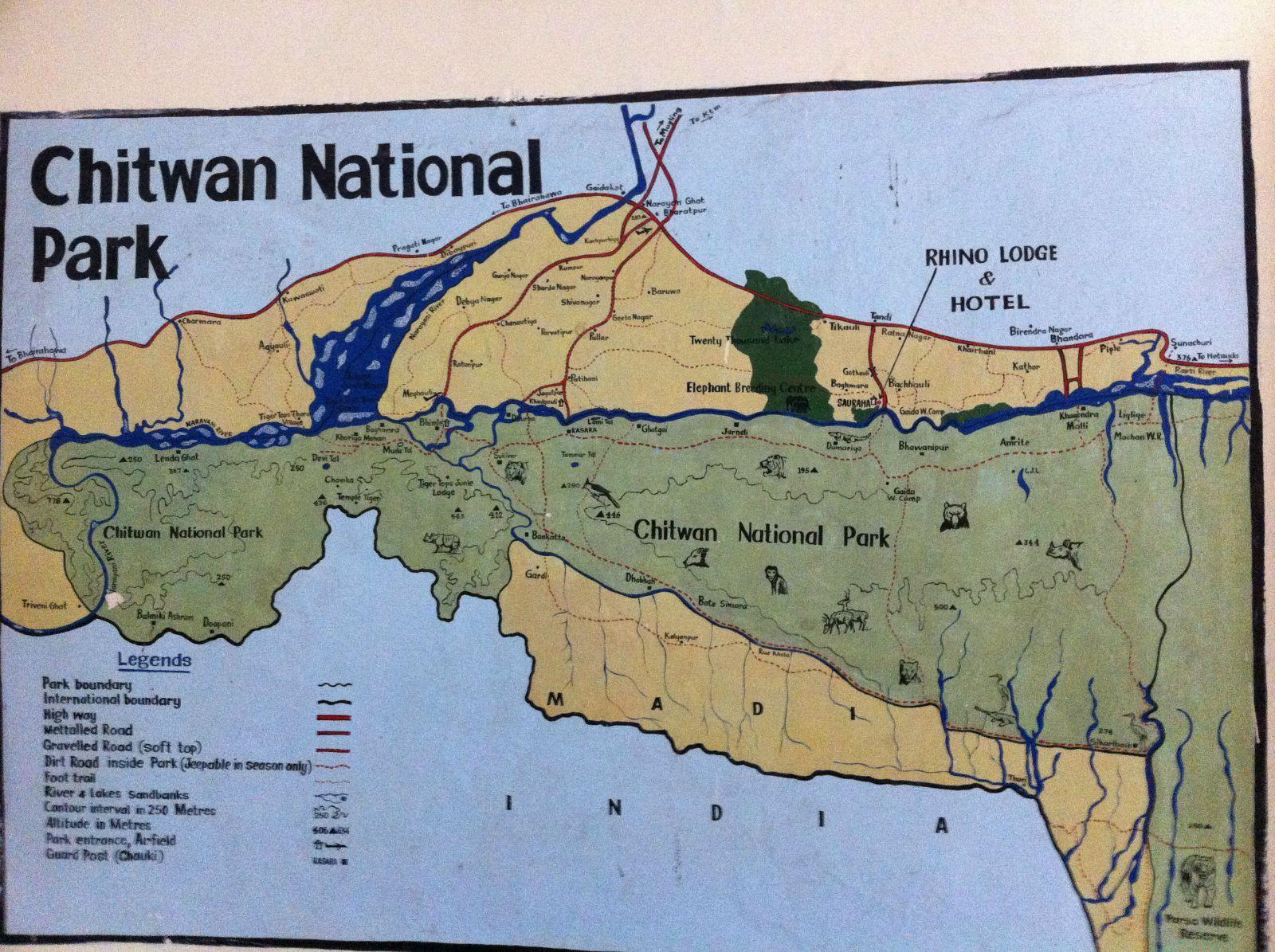 奇特旺是珍稀的独角印度犀牛最后的保护地之一