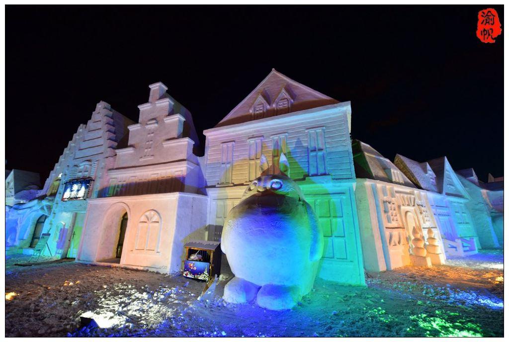 行摄满洲里:中俄蒙国际冰雪节图片