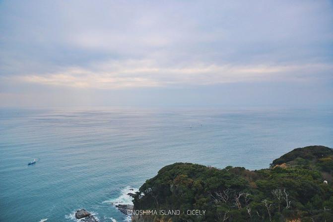 展望灯塔位于江之岛的最高处