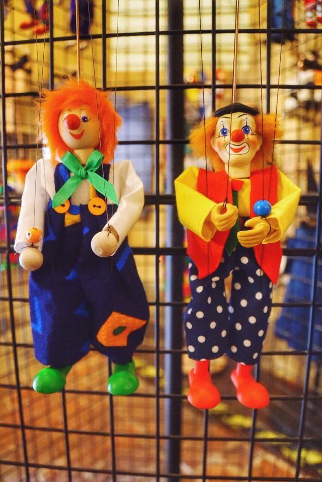 制作的捷克传统提现木偶