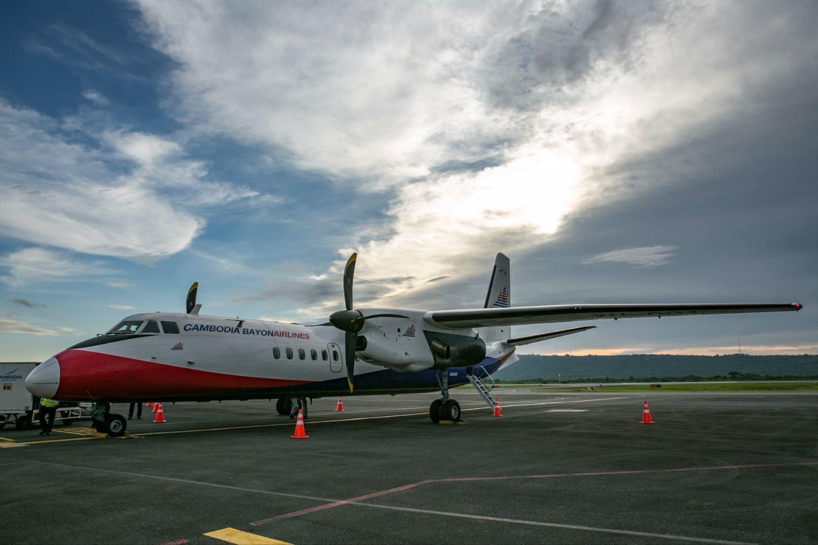 这可是祖国西安飞机工业(集团)产的新舟60飞机!