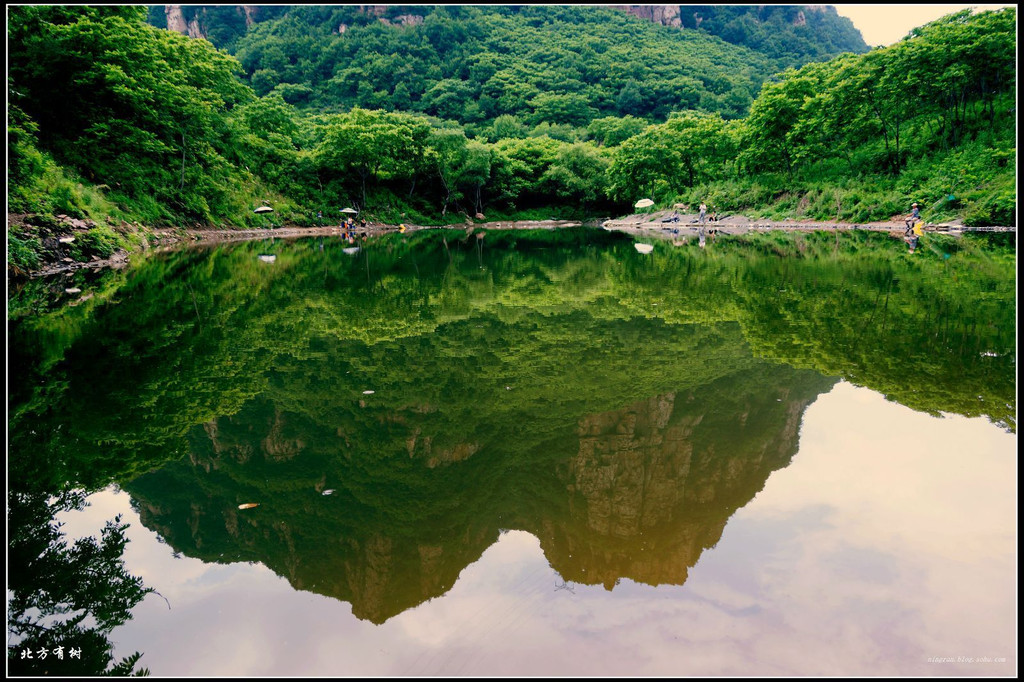 本溪南芬大峡谷