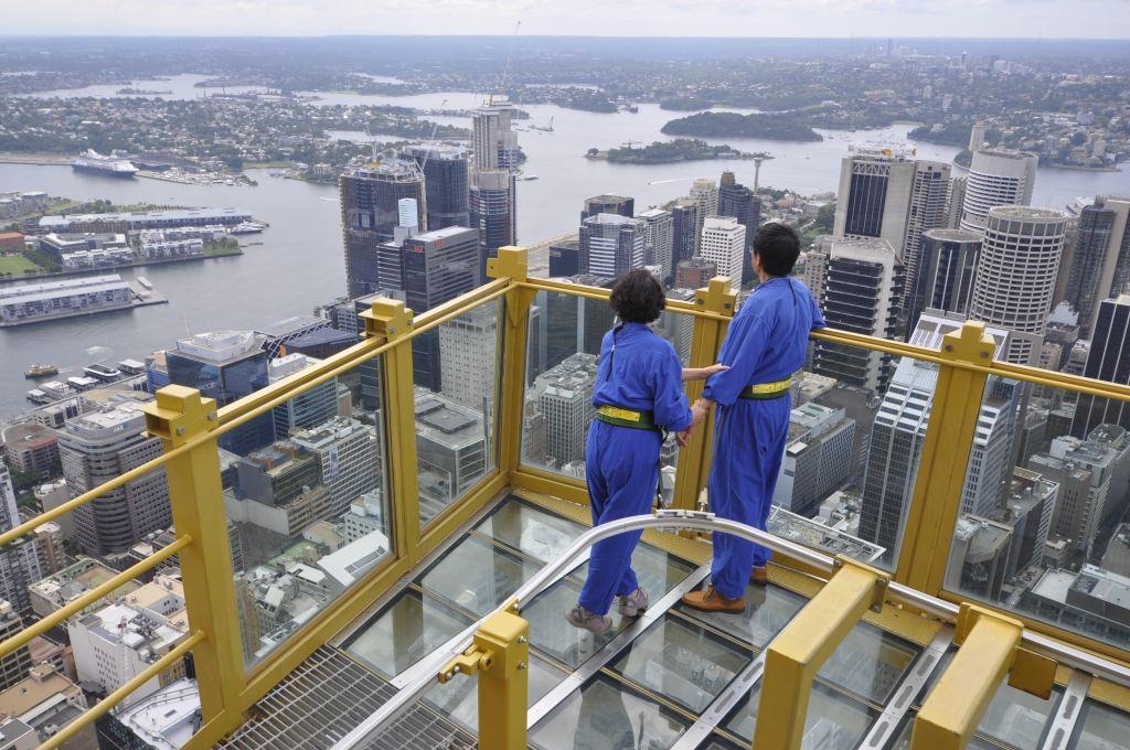 悉尼塔-skywalk空中漫步