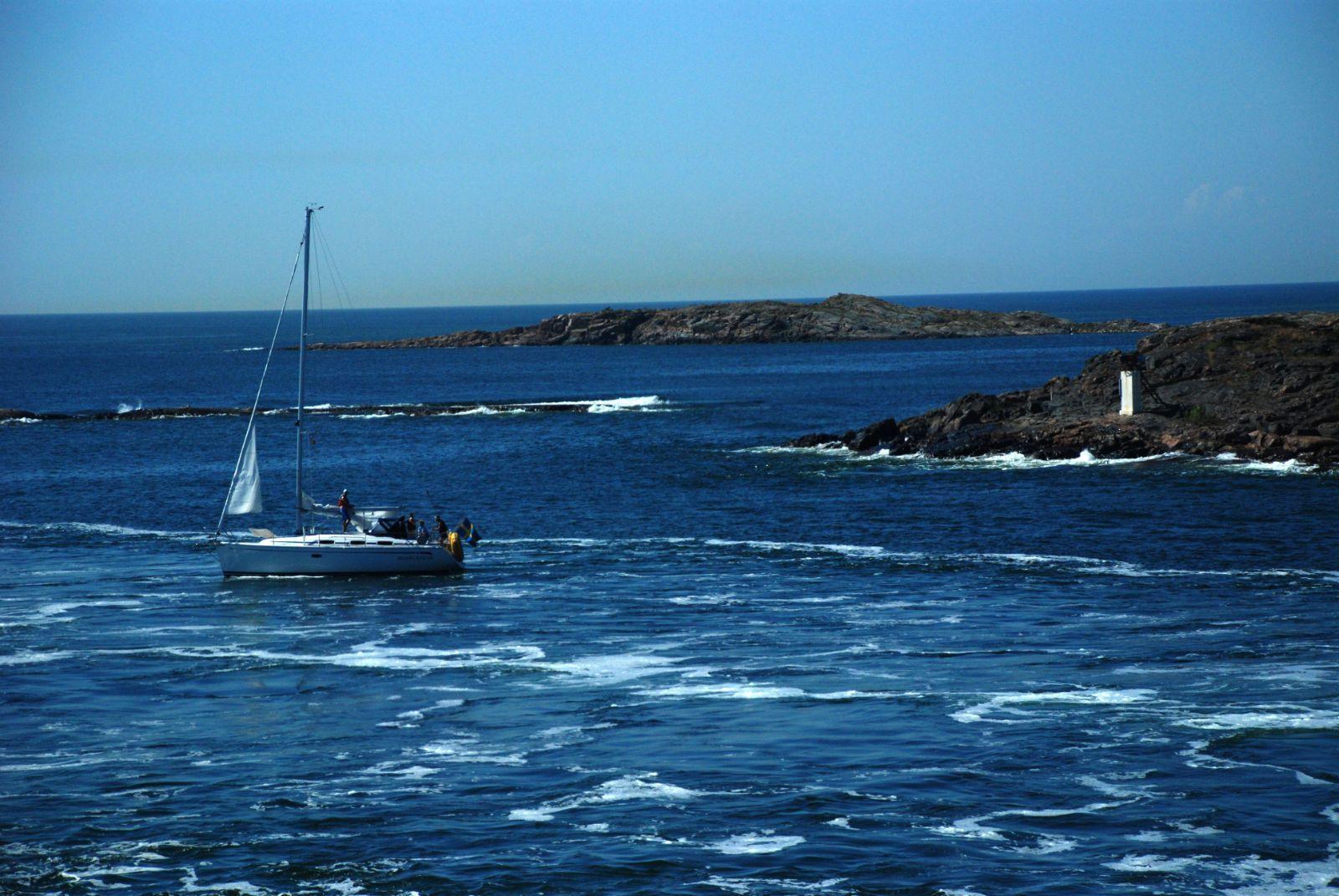 芬兰湾(维京号游轮) 抵达奥兰岛后