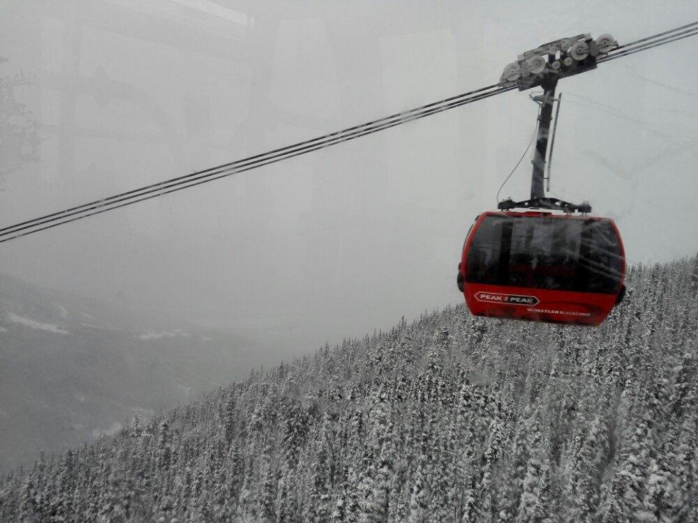 黑梳山纜車  Blackcomb Glacier peak-to-peak Gondola   -3
