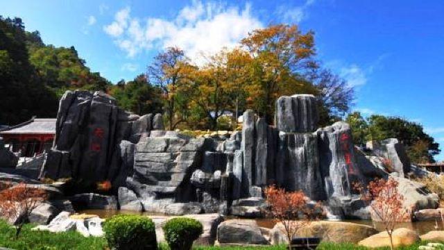 塔云山景区的山形似宝塔